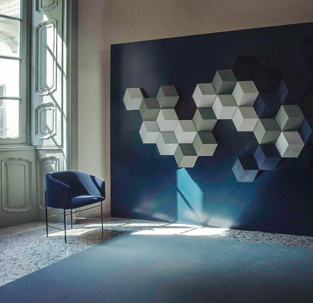 Covent Chair // Photo by Bang & Olufsen doing the Salone del Mobile in Milan in April