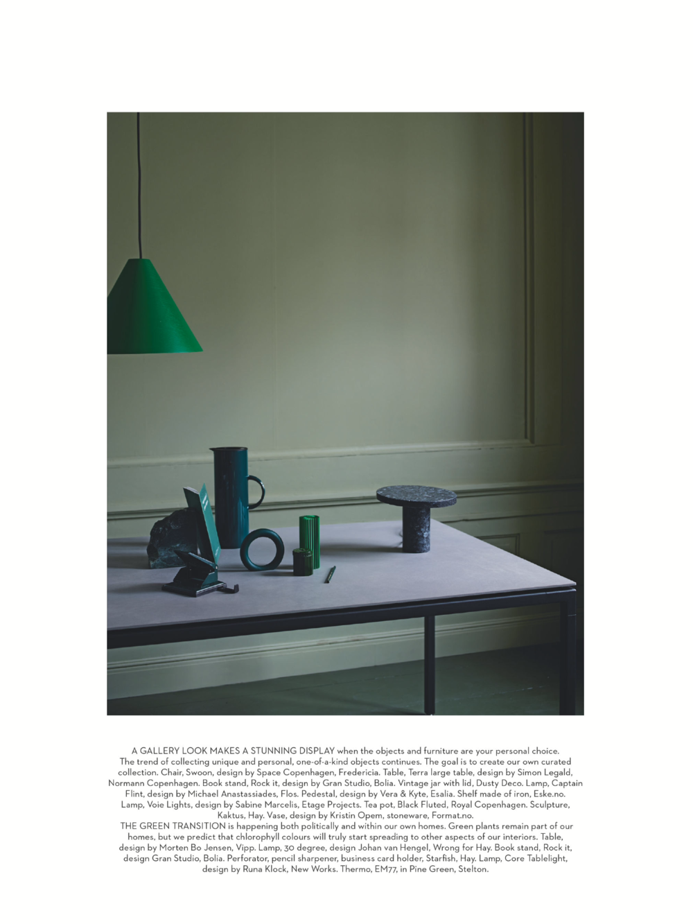 Nordic Living  - Core Table Lamp Designed By Runa Klock
