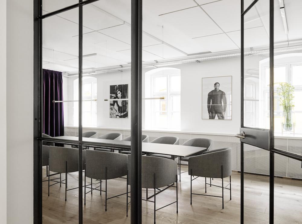 Universal Music Copenhagen -  Interior designer: Sara Martinsen - Photograher: Kristian Holm / Yellow Studio