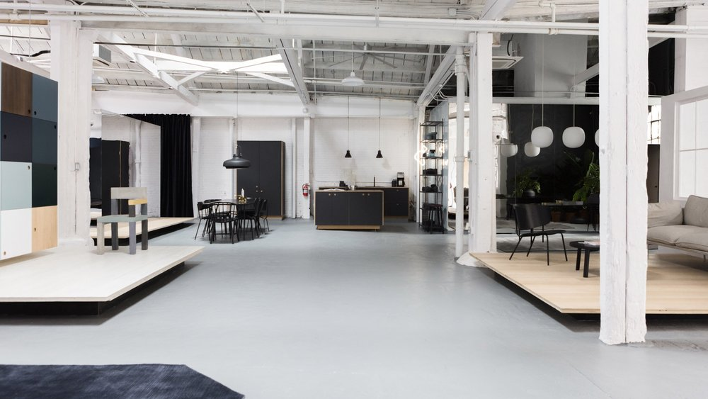 Dezeen   - New Reform Showroom in Brooklyn