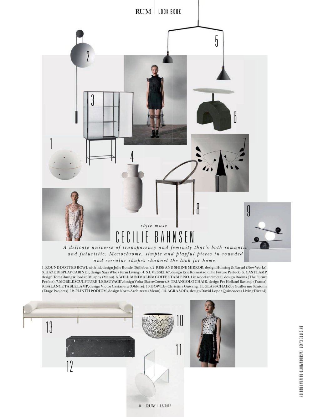 RUM International 2nd edition - Rise & Shine wall Mirror being part of a Cool futuristic mood board.