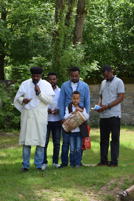 Eritreisch orthodoxe Klänge mit Priester Solomon