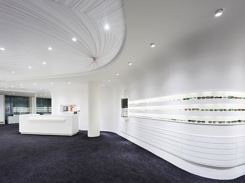 Innenarchitektur Stuttgart - Optiker, Design, Conrad Optik