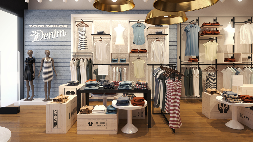 Shop Design Konzept für Tom Tailor Denim