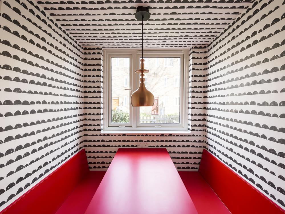 Apartment Filippo, London, kitchen, table, interior design, Studio Alexander Fehre