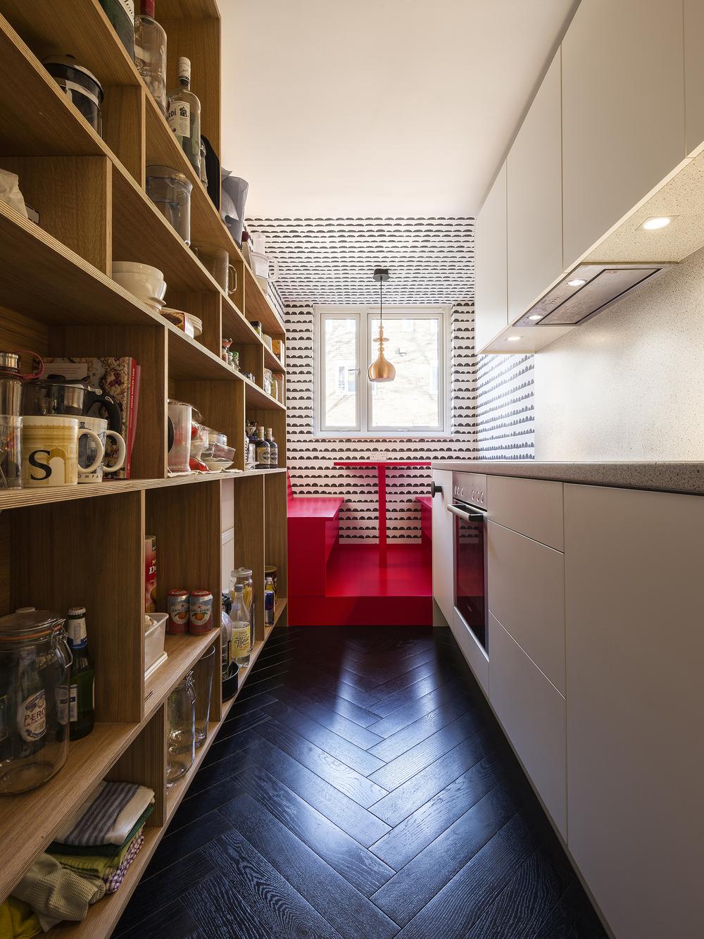 Apartment Filippo, London, kitchen, small architecture,interior design, Studio Alexander Fehre