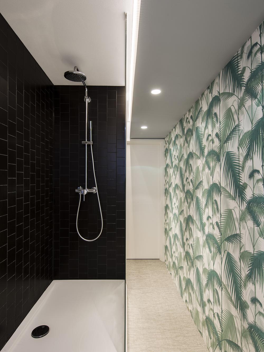 Apartment Filippo, London,small architecture,interior design, bath, shower, Studio Alexander Fehre