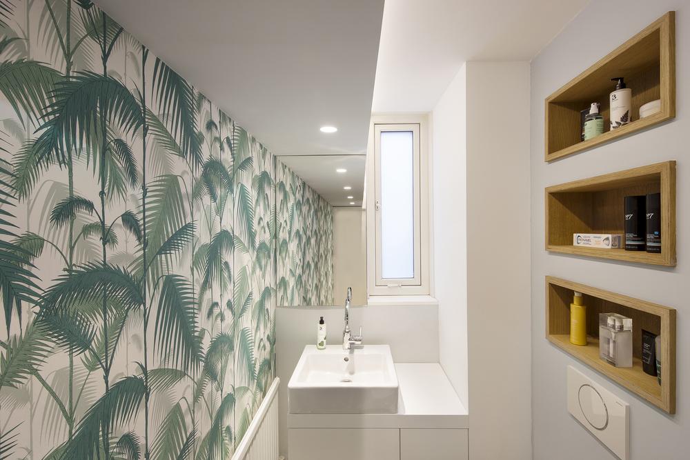 Apartment Filippo, London,small architecture,interior design, bath,Studio Alexander Fehre