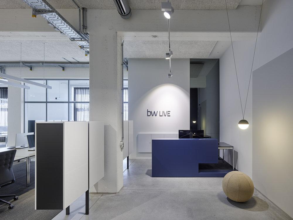 Innenarchitektur Stuttgart - Büro, Office, Arbeitswelt, bwlive, interior architecture, Studio Alexander Fehre