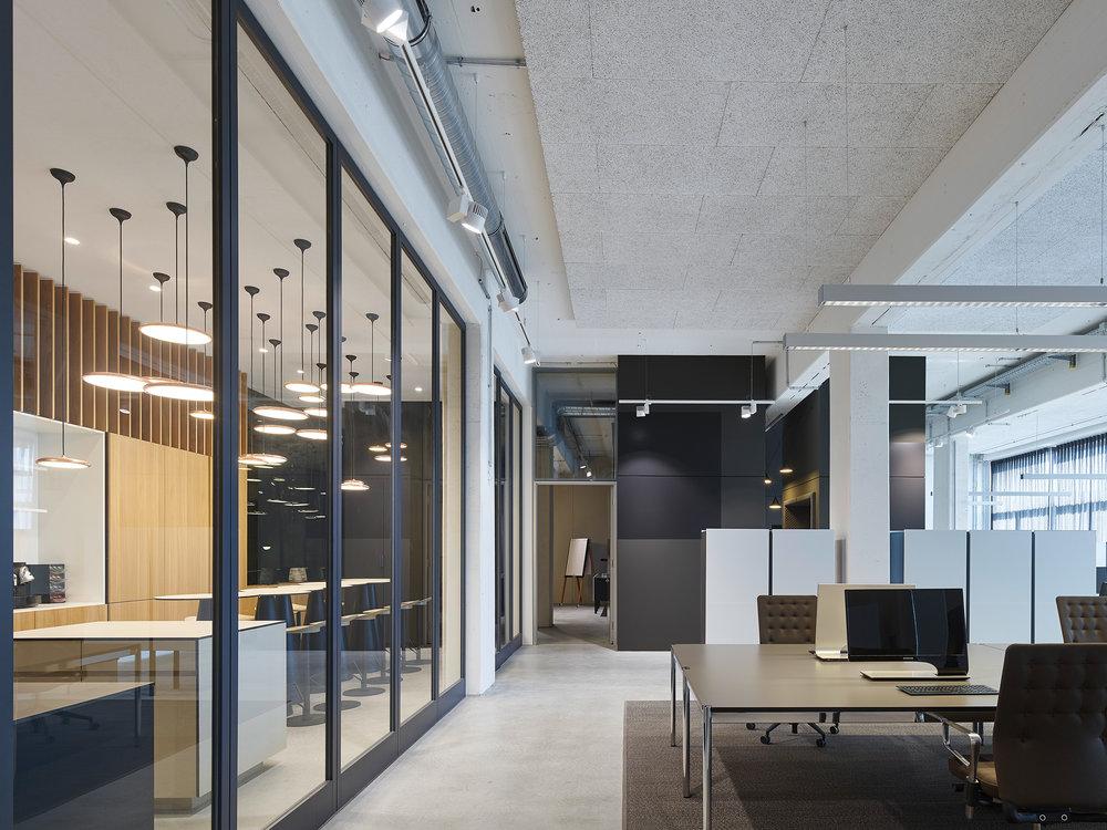 Innenarchitektur Stuttgart - Büro, Office,interior architecture, bwlive, Arbeitswelt, Nachhaltigkeit, USM, Studio Alexander Fehre Arbeitswelt, Nachhaltigkeit