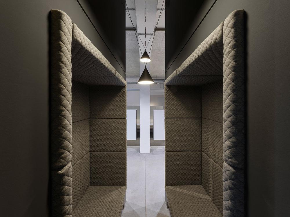 Innenarchitektur Stuttgart - Büro, Office,interior architecture, bwlive, Arbeitswelt, Alkoven, alcove,Nachhaltigkeit,Studio Alexander Fehre