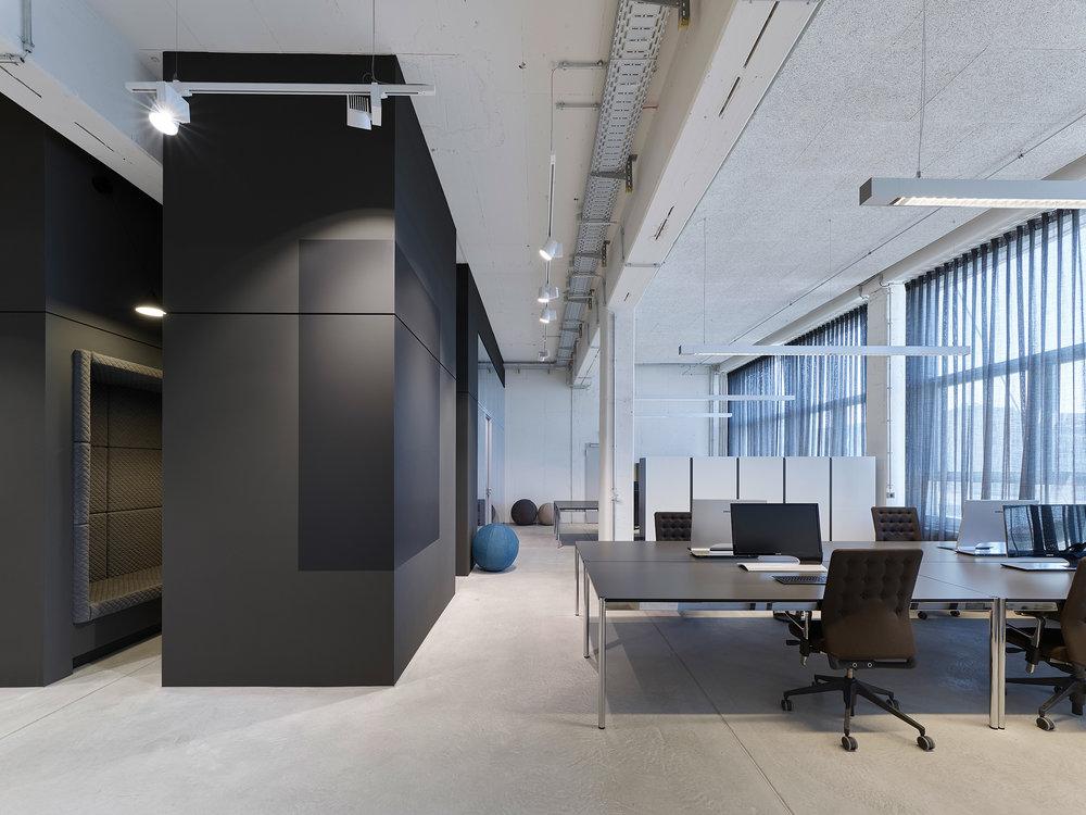 Innenarchitektur Stuttgart - Büro, Office, interior architecture, bwlive, Arbeitswelt, Nachhaltigkeit, USM, Studio Alexander Fehre