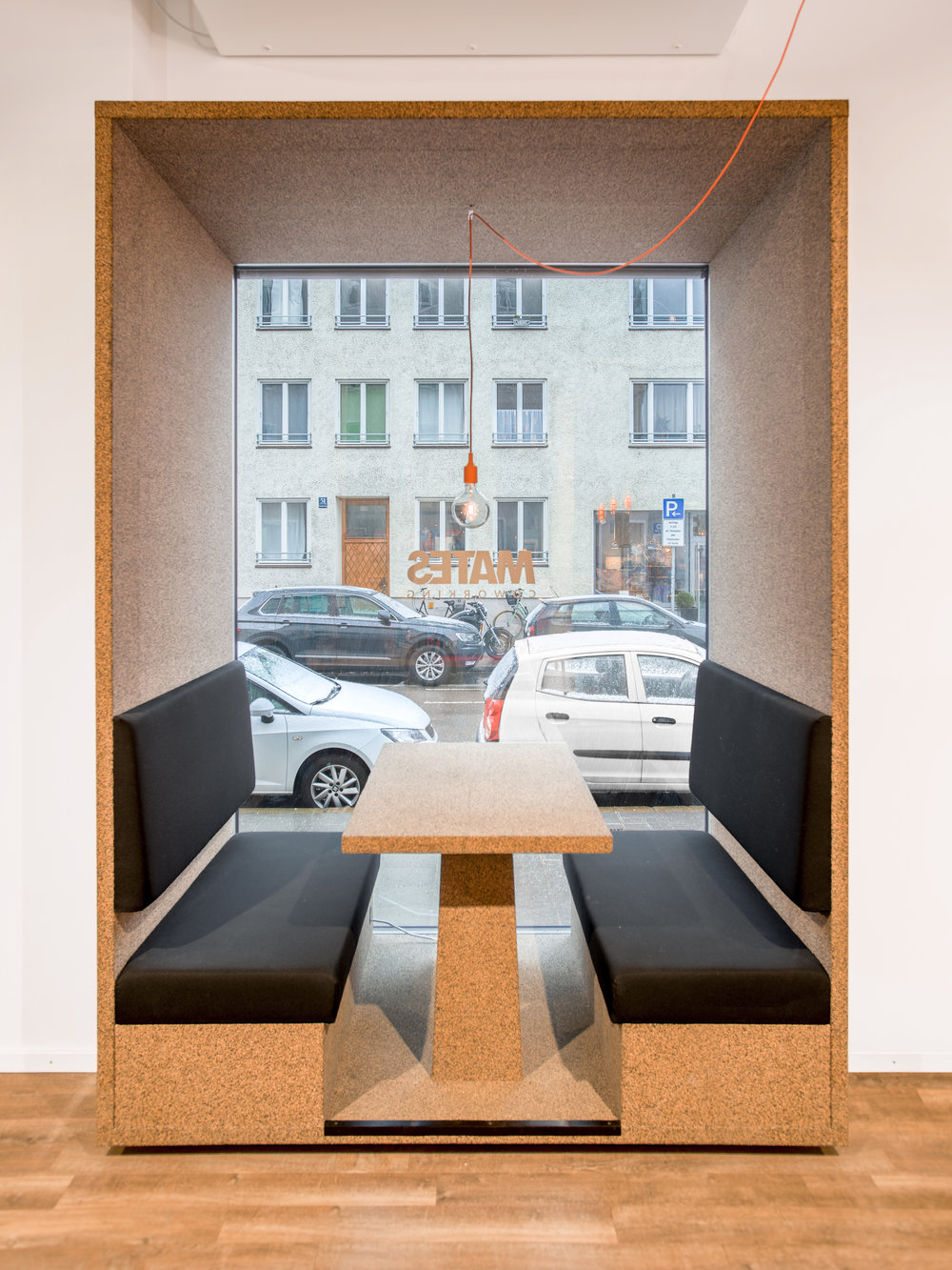 Bosch Automotive Steering - Neue Arbeitswelt 205, green office, alcove, interior architecture, design, blue