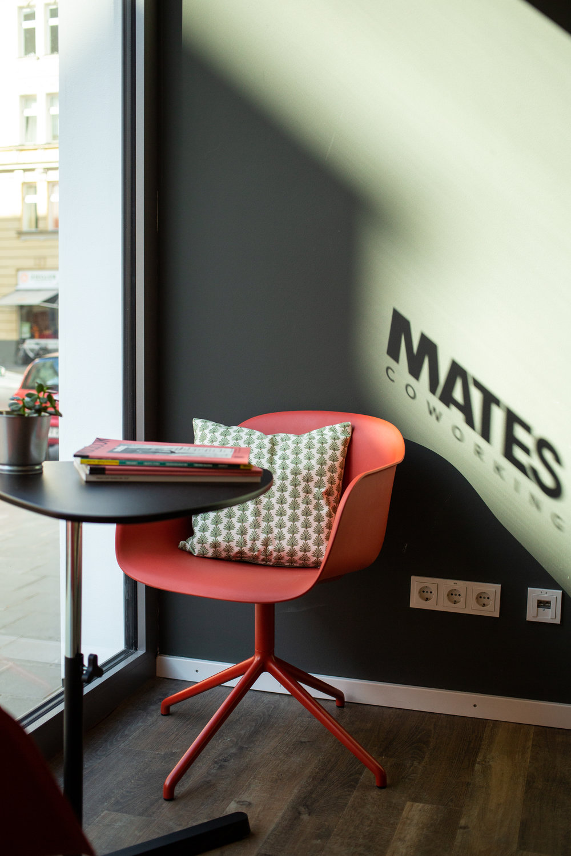 Mates Munich, Coworking, co-working space, communication, office, interior architecture, design, muuto