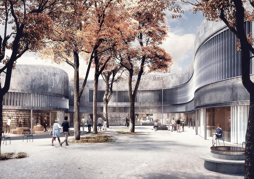 Lundgaard &Tranberg Arkitekters forslag
