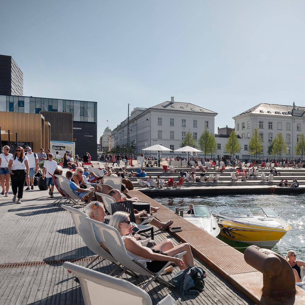 The Kvæsthus pier is open From Wednesday June 29 2016 is the new urban area in Copenhagen,the Kvæsthus Pier, open to the public. June 2016