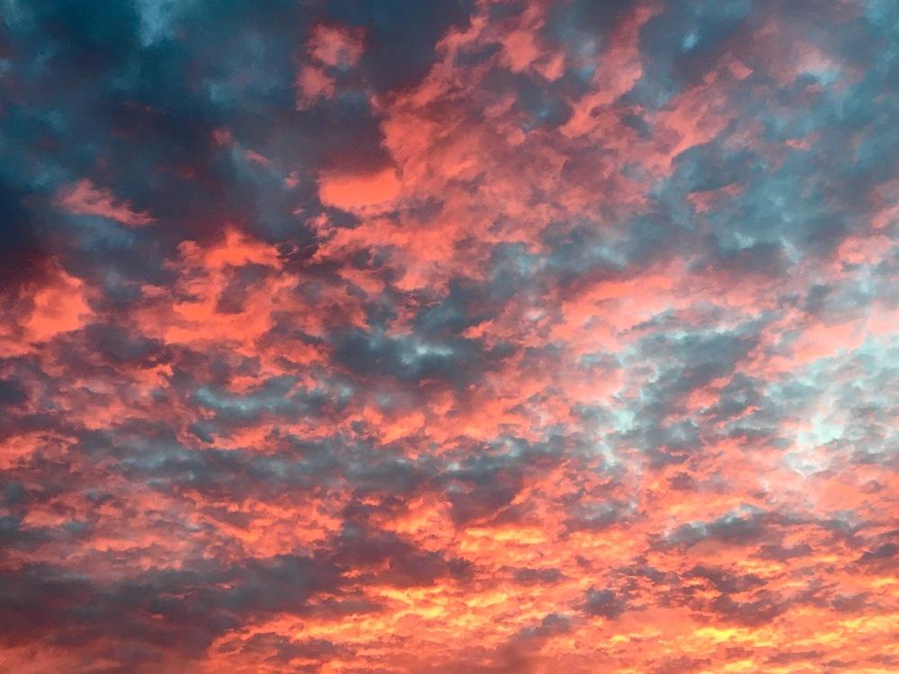 Pink Ohio Sunrise