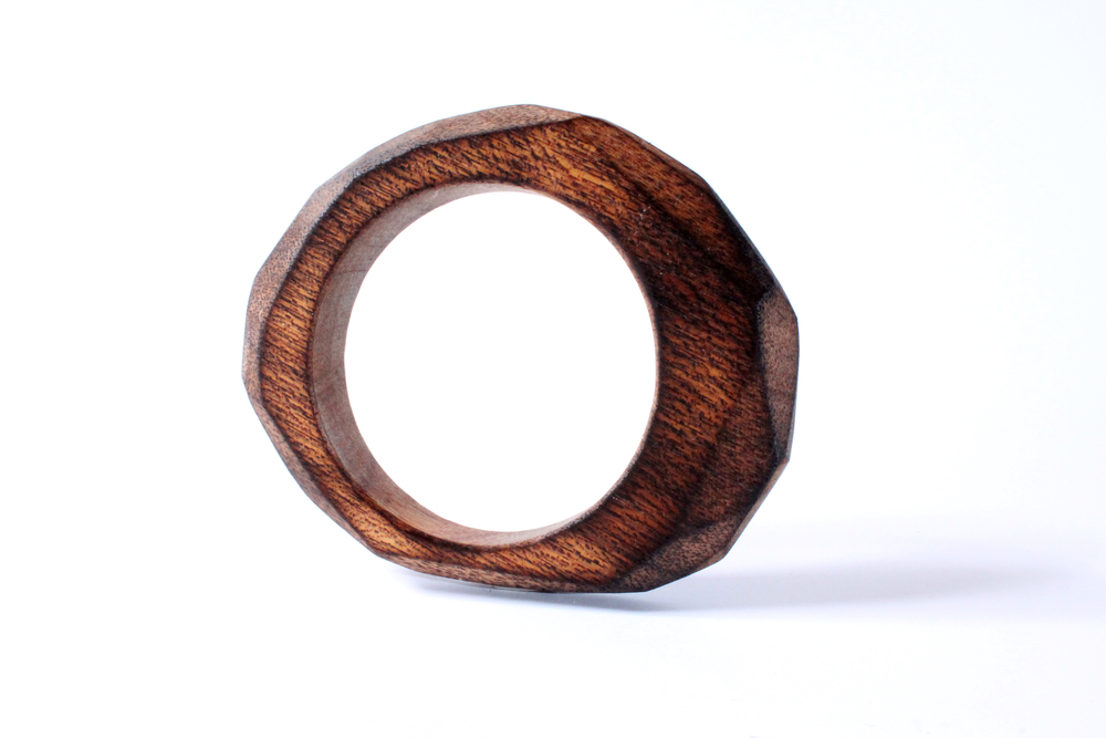 Burned Mahogany Bangle