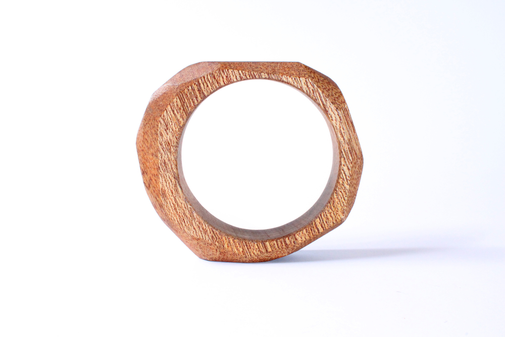 Natural Mahogany Bangle