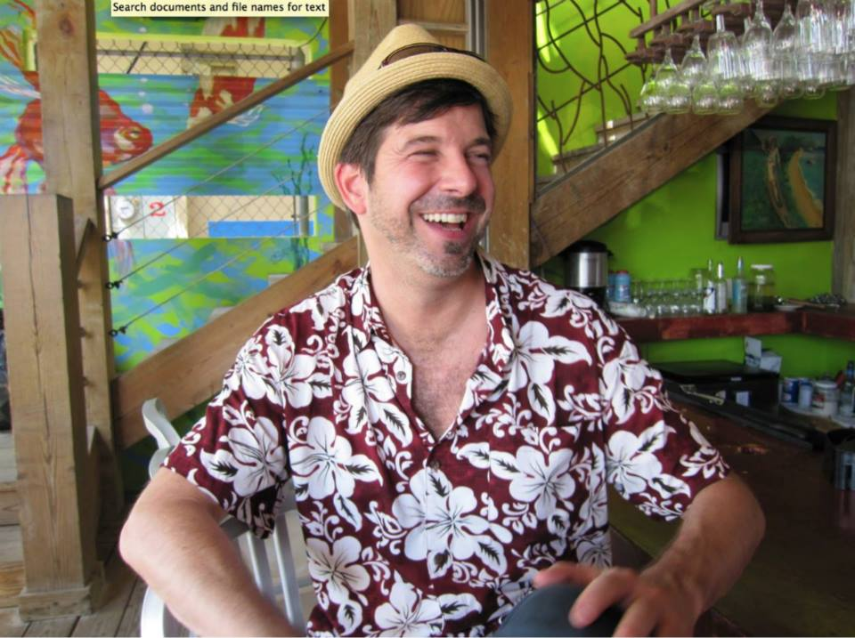 #throwbackthursday   #13 - Feb 14, 2010. Vieques, Puerto Rico. Just arriving from a cold winter Boston trip for my birthday. Look at Tim's face as he watches the bartender make his first strawberry Margarita. One of my faves!   #tbt     #rememberingtim