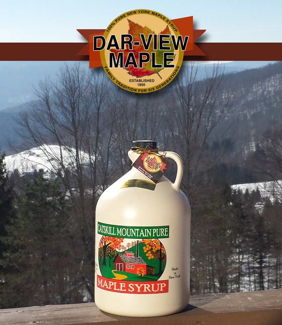 Shop our   Maple Store     or   call us at 1-  607-435-1657     Dar-View Maple     2818 Fall Clove Road, Delancey, NY 13752