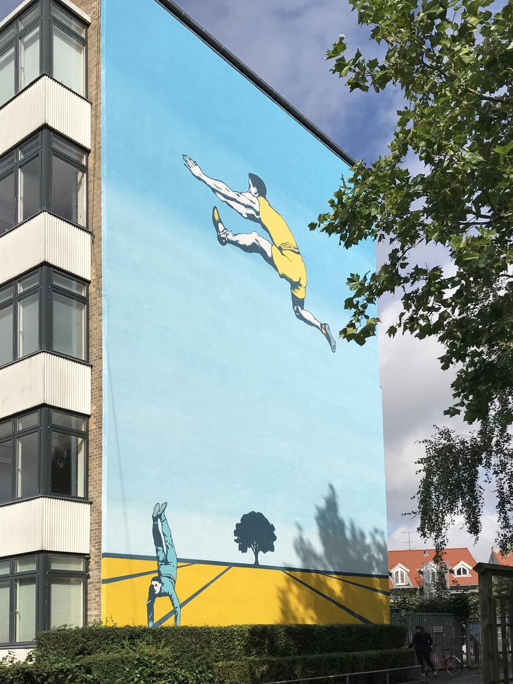 Gavlmaleri Frankrigshusene København