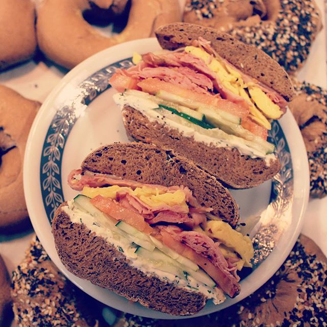 Pumpernickel is the #NEW #everythingbagel. We're open and ready for #breakfast! #wakeup #dcfoodporn