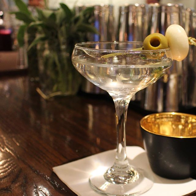 The name is #Bond, James Bond, and I'm licensed to thrill. #cocktails #martini #gin #dirty #acreativedc