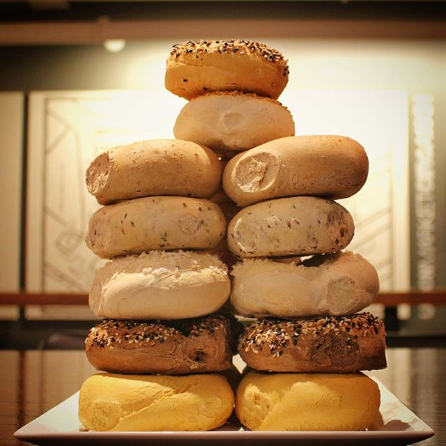 #Bagelblessed with more bagel selection the earlier you come to @unionmarketdc!  #acreativedc #foodporn #tower #blessed