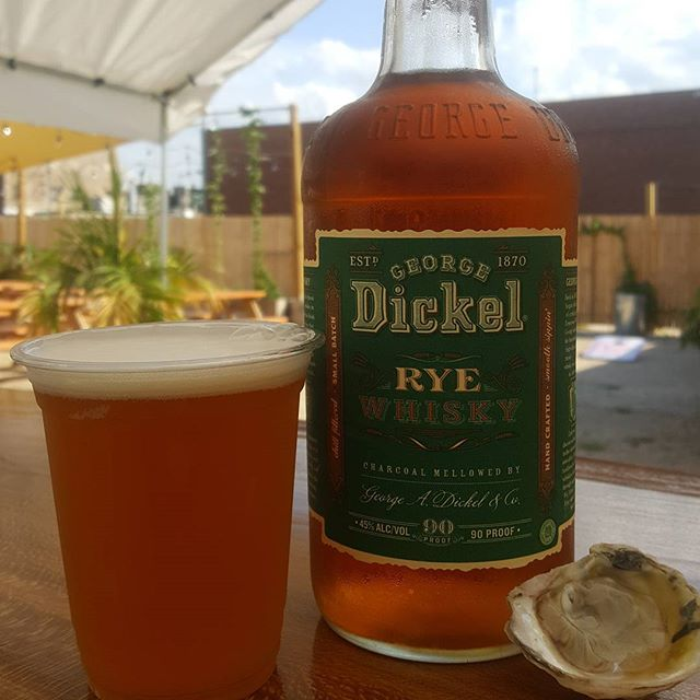 Beer, Whisky, Oysters! We got em all so head over to #TapandGarden play some bocce or corn hole and enjoy some good vibes!!!