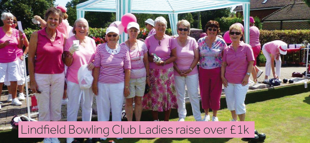 Photo of Lindfield Ladies Bowling Club members.