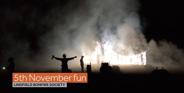 Lindfield Bonfire 5th November 2015