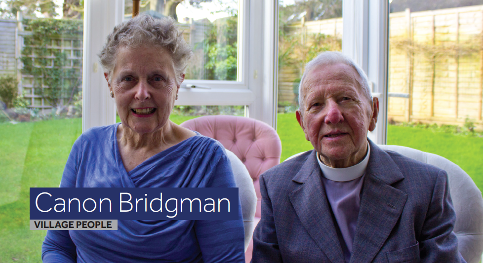 Canon Bridgman and Gill Bridgman