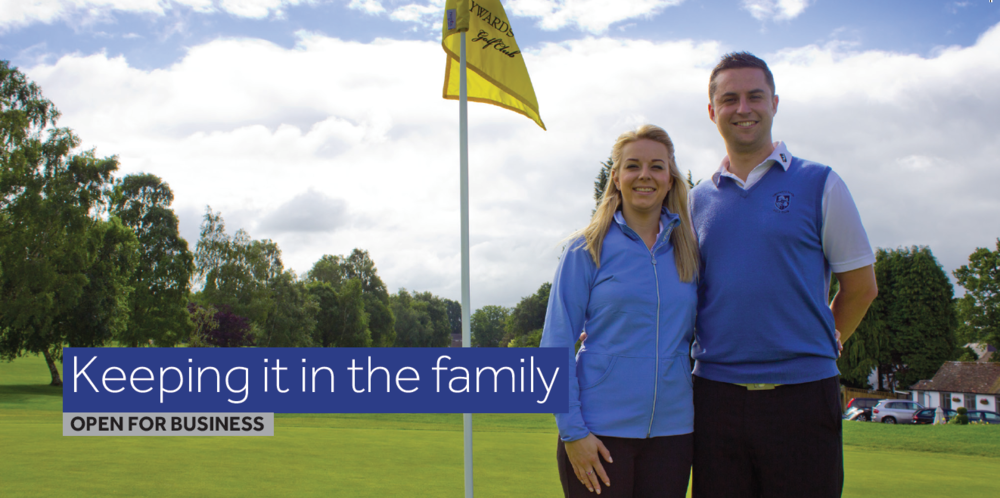 James Verrall, golf Pro Haywards heath golf Club