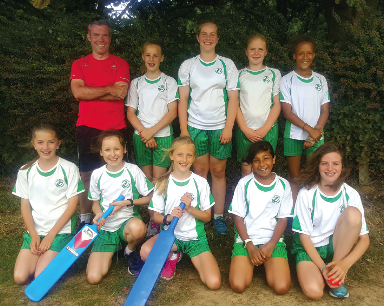 Lindfield Academy's Cricket Girls