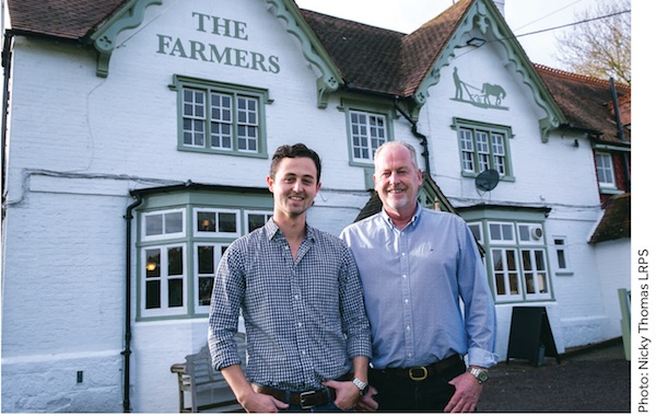 The Farmers Pub reopens in Scaynes Hill