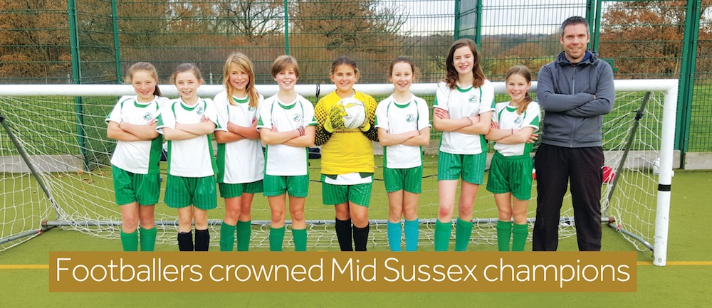Lindfield Primary Academy school football team