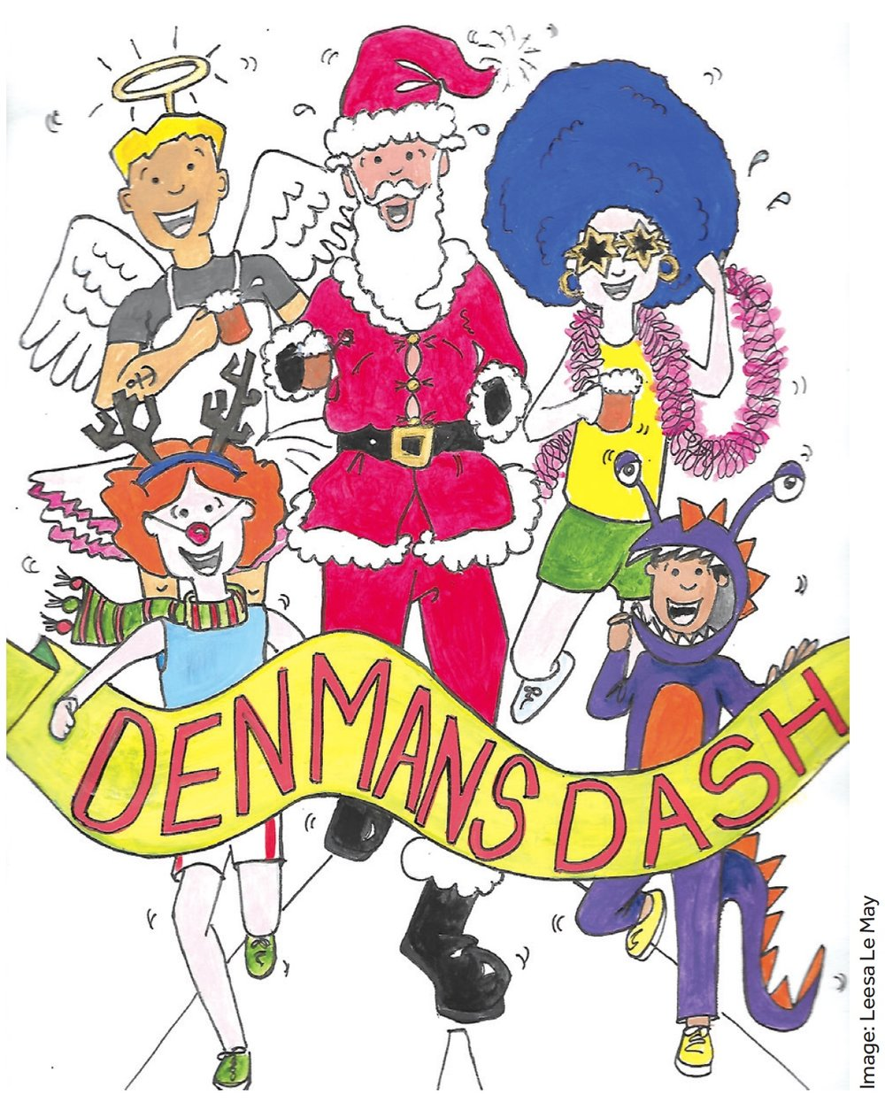 Denmans Lane Dash Poster 2018