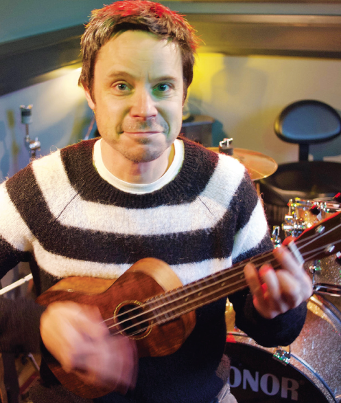 Join Andy in the ukele band