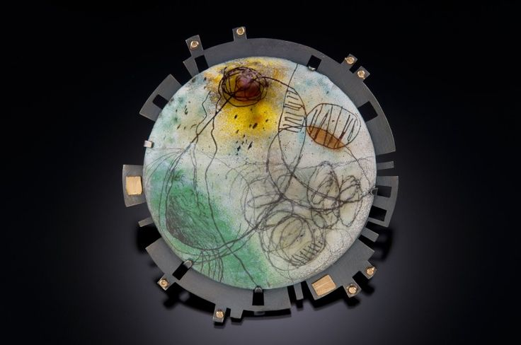Anne Havel's wonderful enamel work