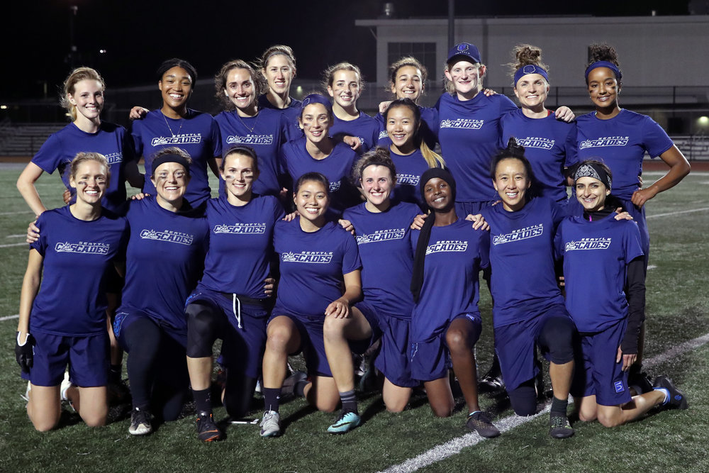 Cascades 2018 Women's roster, SEA @ SF