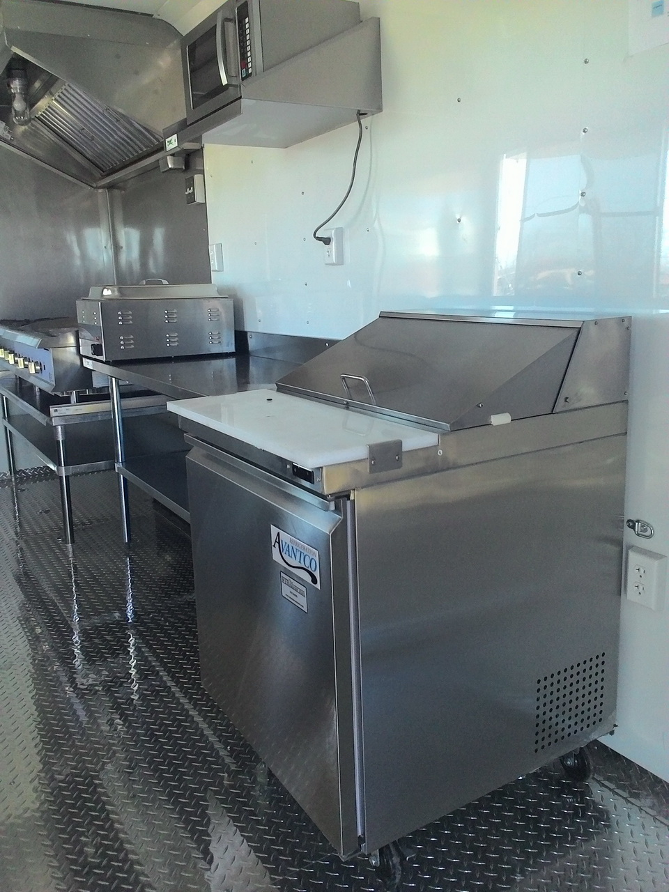 Custom concession trailers built in texas