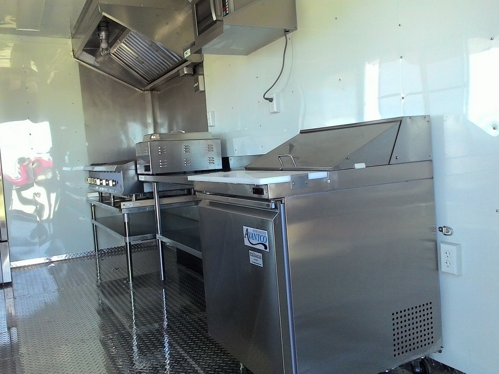 custom built concession trailers built in texas