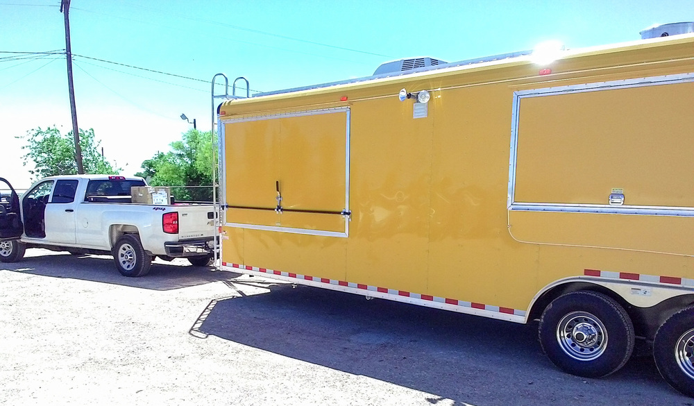 Texas Mobile Custom Concession Trailer