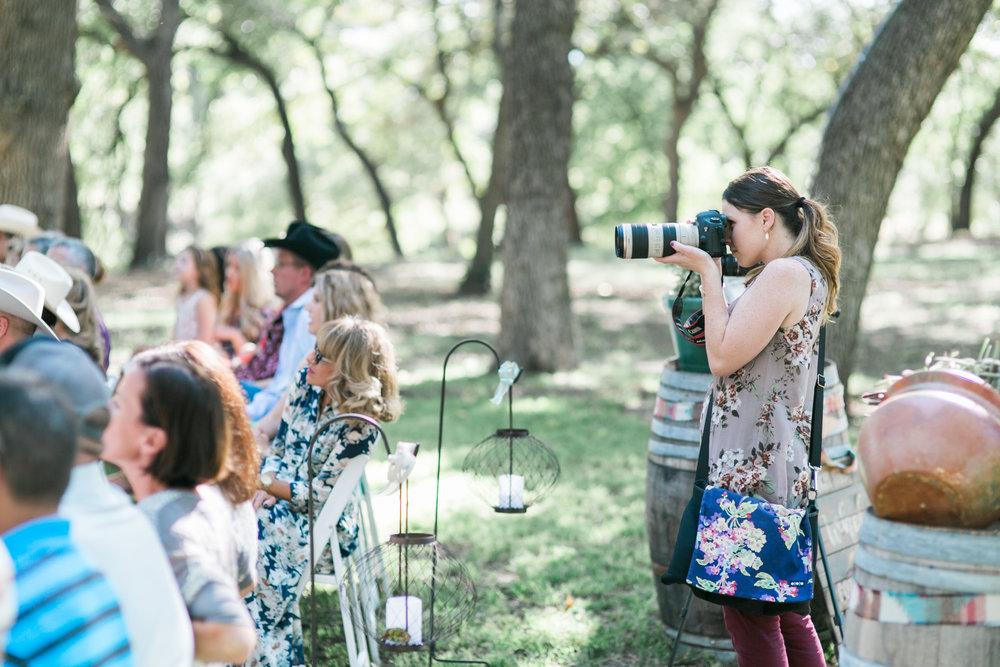 Mikka, the main wedding photographer.