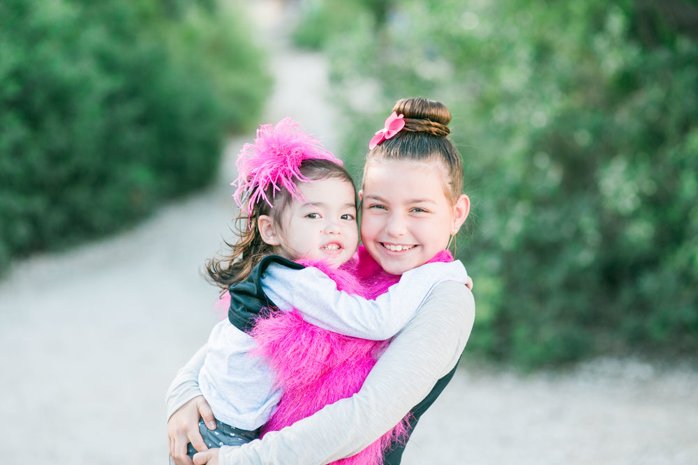 Annabella and Zoey