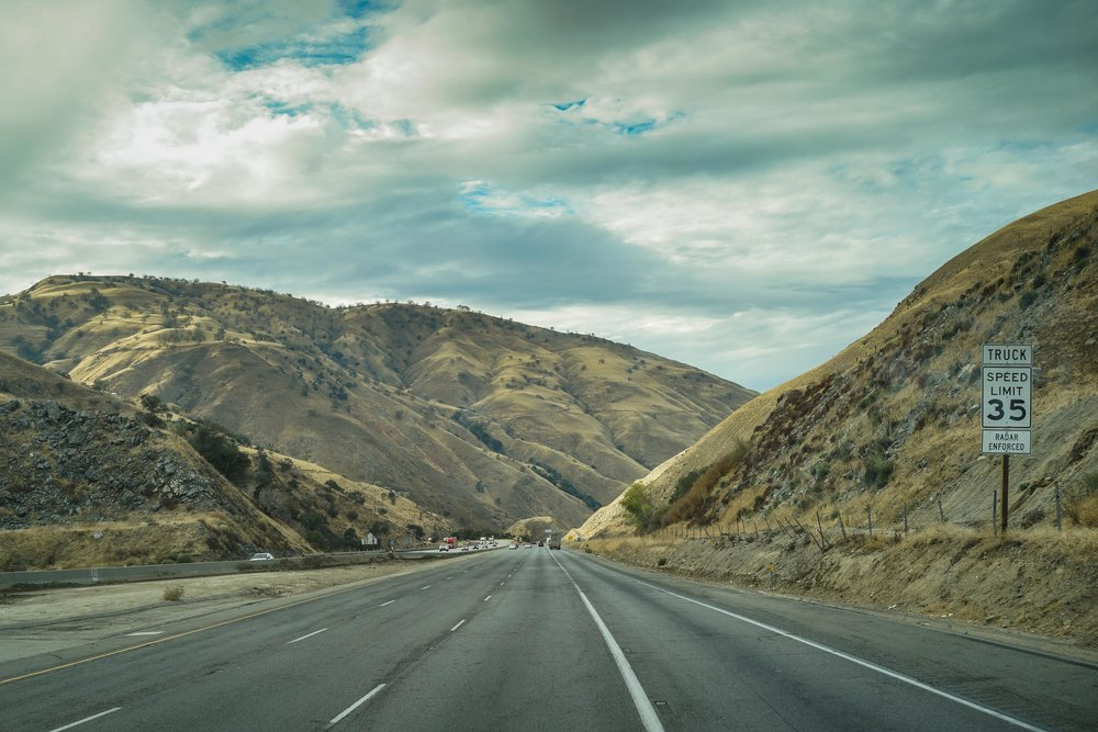 On the way to Yosemite!