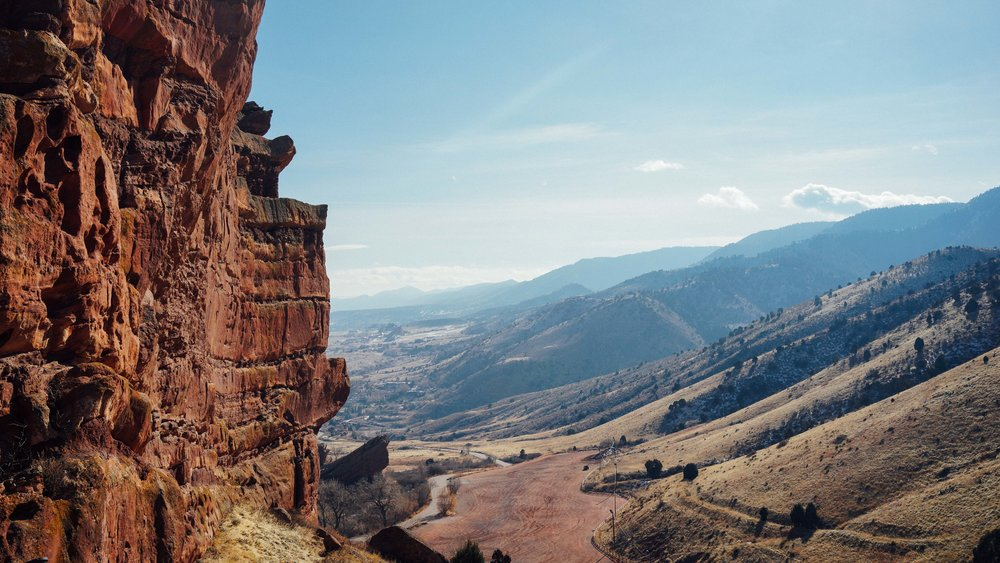 View from Red Rocks Amphitheater