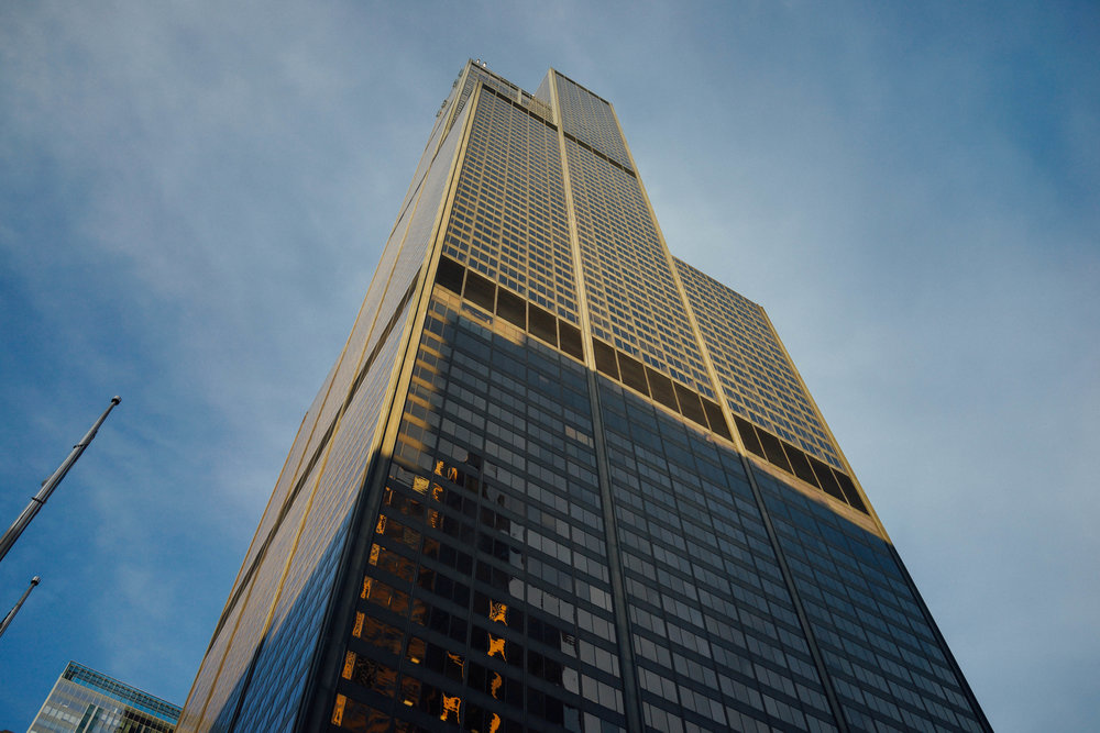 Willis Tower, the second tallest building in the US.