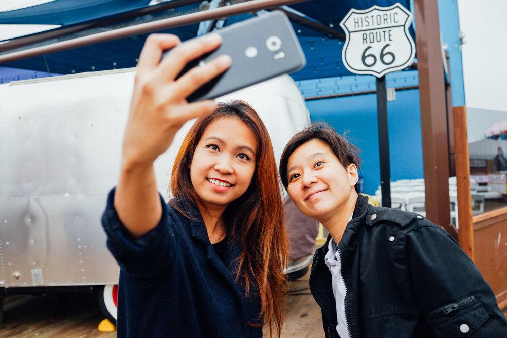 Selfie is a must. :)